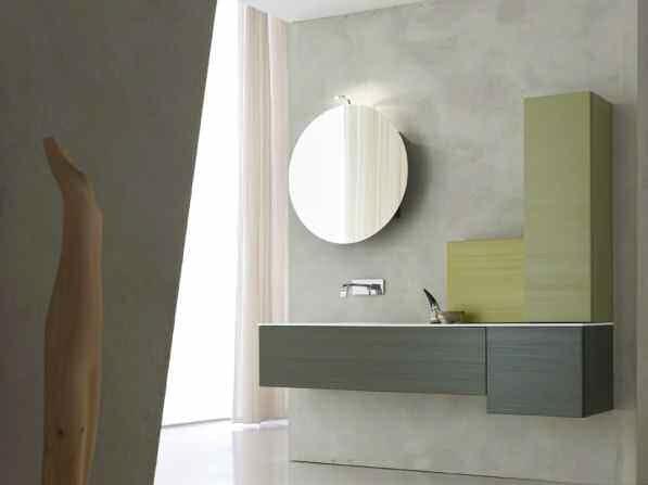 Sistema bagno componibile KARMA - COMPOSIZIONE 34 by Arcom