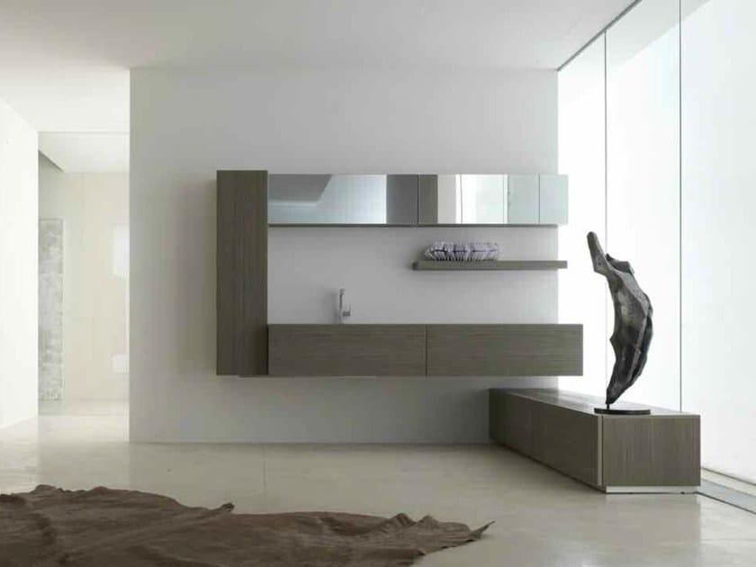 Bathroom cabinet / vanity unit KARMA - COMPOSITION 36 by Arcom