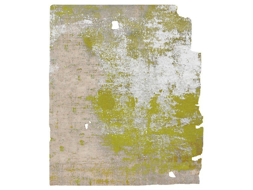 Handmade rug KARRYD RAW ICE CUT DIAMOND DUST by HENZEL STUDIO