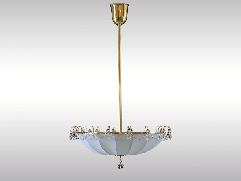 Classic style pendant lamp KARUSSELL by Woka Lamps Vienna