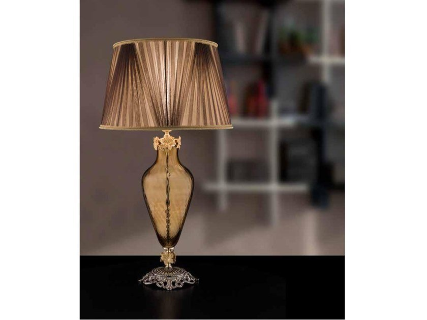 Lampada da tavolo in cristallo KATE LG1 by Euroluce Lampadari