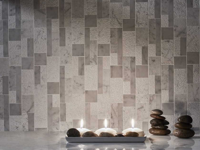 Marble mosaic KAVARA by AKDO
