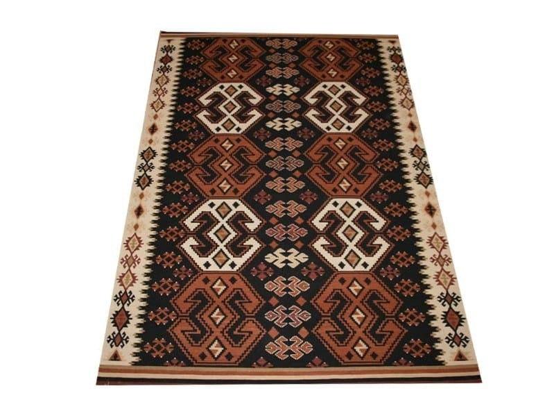 Rectangular fabric rug with geometric shapes KAZAK | Geo8 by EBRU