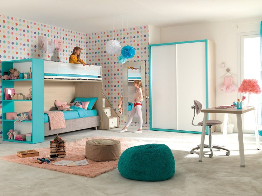 KC501 | Loft bedroom set By Moretti Compact