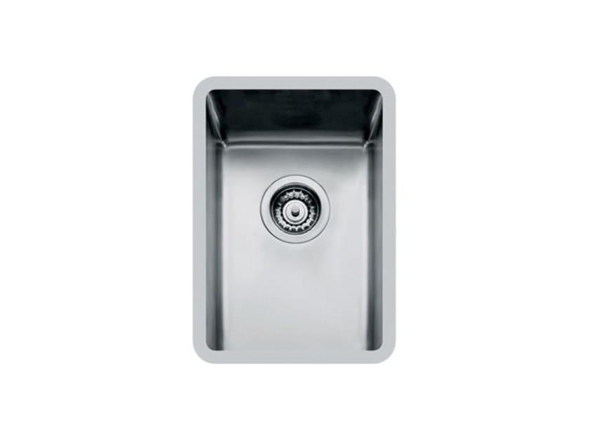 Single undermount stainless steel sink KE R15 27X40 S/TOP TPR INOX by Foster