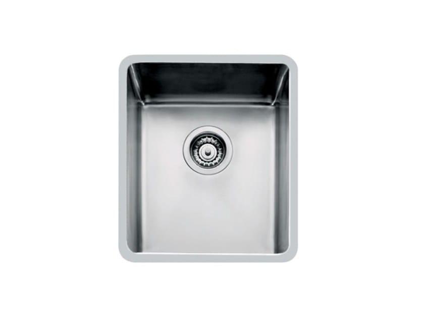 Single undermount stainless steel sink KE R15 34X40 S/TOP TPR INOX by Foster
