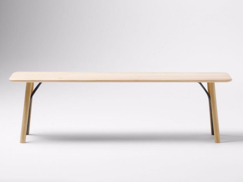 Wooden bench KEA | Bench by ALKI