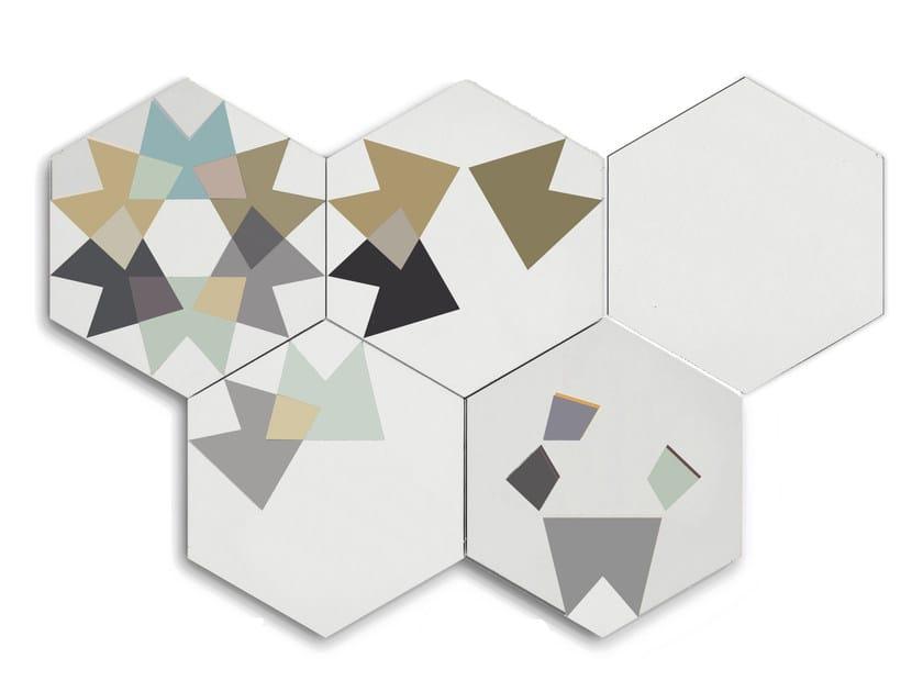 Cement flooring KEIDOS VERT by enticdesigns