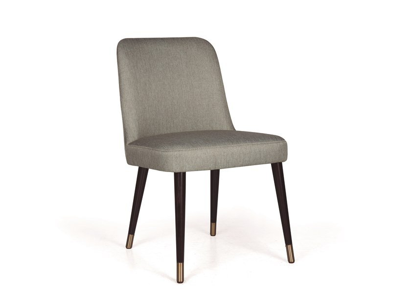 Upholstered fabric chair KELLY 04 LT by Fenabel