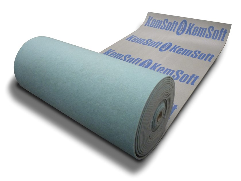 Sound insulation panel / Impact insulation system KEM SOFT 10 by Biemme