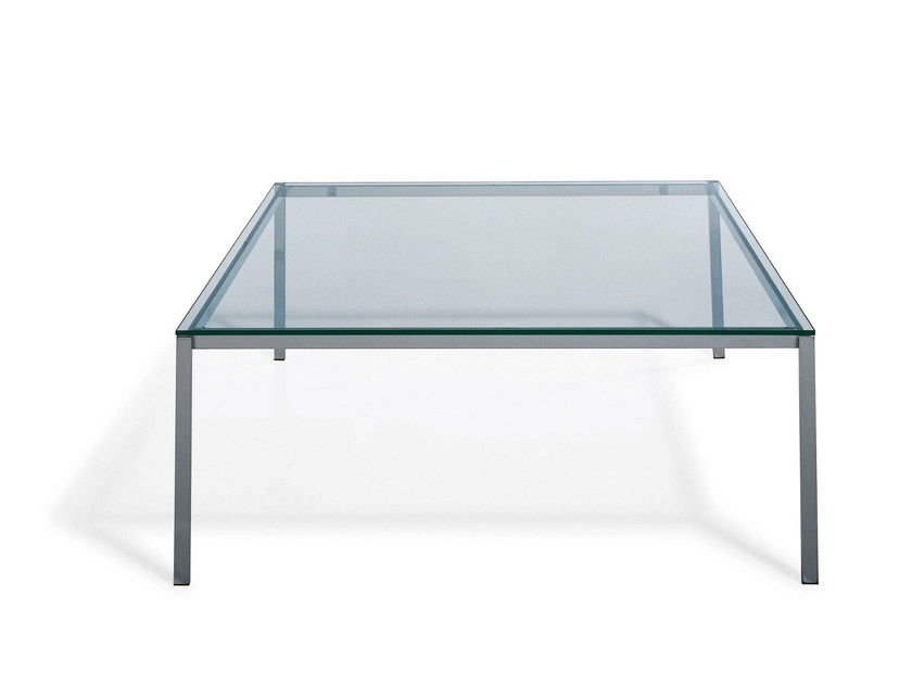 Glass coffee table for living room KENDO | Coffee table for living room by Draenert