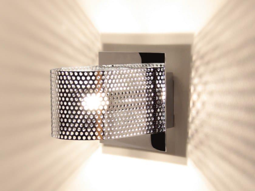 LED handmade iron plate wall lamp KENDO W1   Iron wall lamp by Luz Difusión