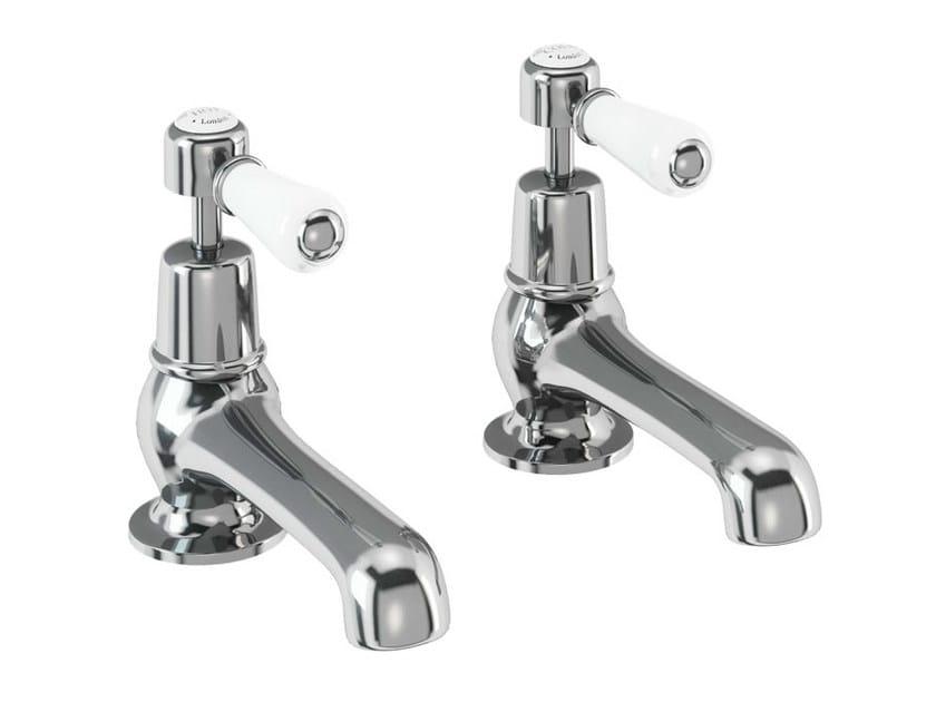 2 hole chromed brass bathtub tap with aerator KENSINGTON | 2 hole bathtub tap by Polo