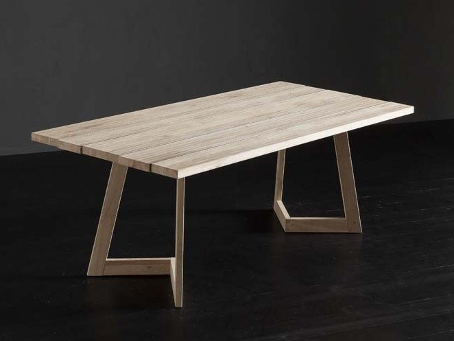 Rectangular wooden dining table KENZO + SEVEN by AltaCorte
