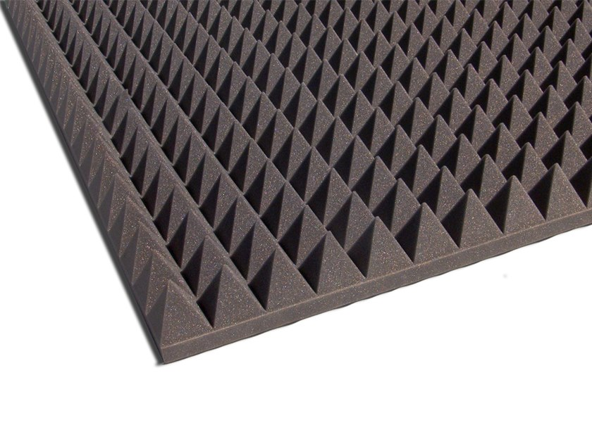 Polyurethane foam sound insulation felt KEOPE by Isolgomma