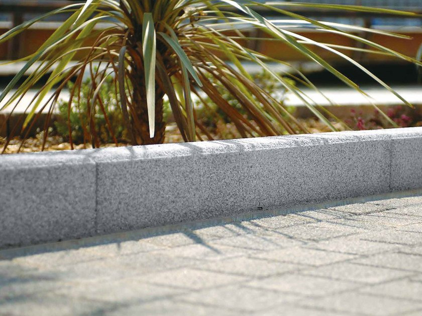 Marble grit lawn edging KERBS by RECORD - BAGATTINI