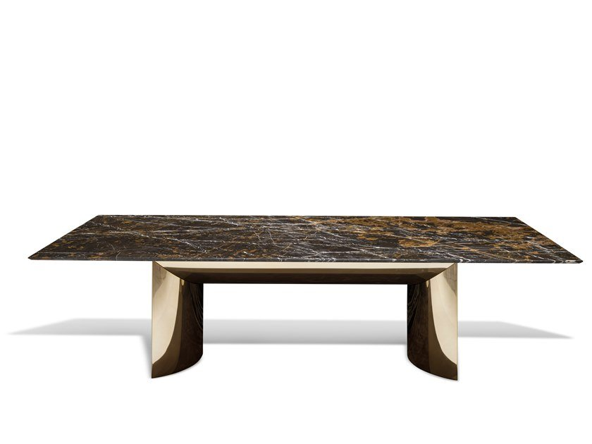 Rectangular marble table KERWAN | Marble table by Visionnaire
