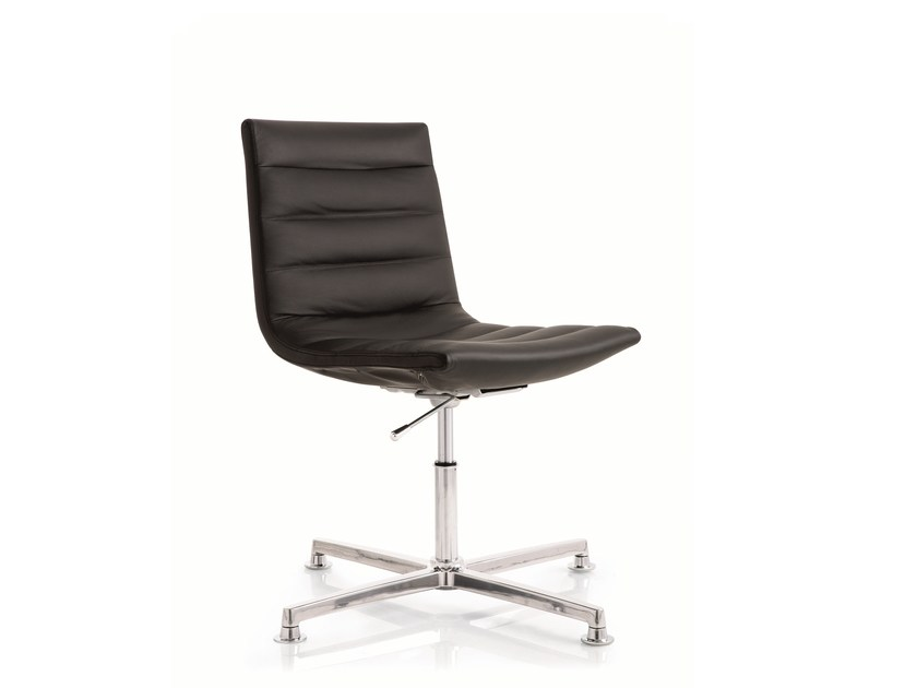 Swivel task chair with 4-Spoke base KEY | Task chair with 4-Spoke base by Emmegi