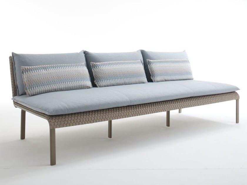Modular 3 seater sofa KEY WEST | 3 seater sofa by Roberti Rattan
