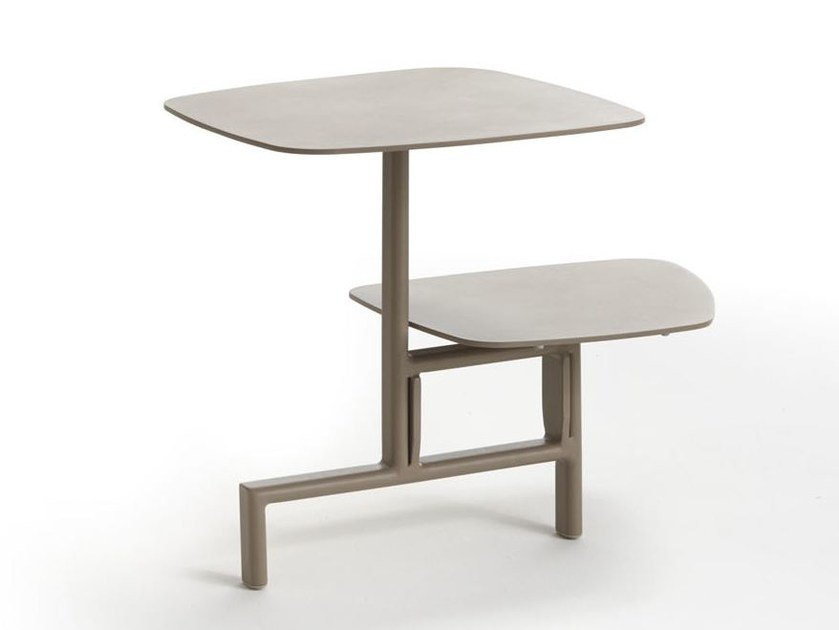 Aluminium garden side table KEY WEST | High side table by Roberti Rattan