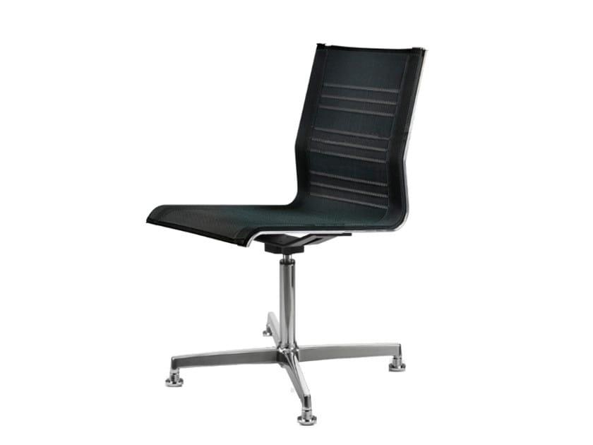 Swivel mesh task chair with 4-Spoke base KEYPLUS 3156 by TALIN