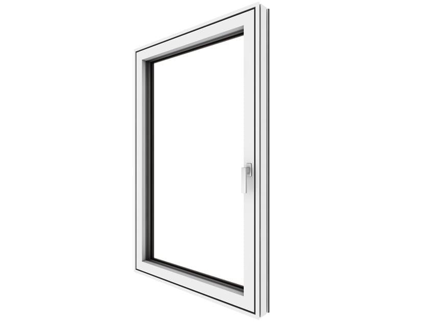 Finestra in alluminio e PVC KF 520 by INTERNORM Italia