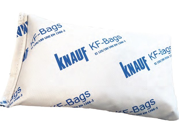 System to protect against fire penetration KF BAGS by Knauf Italia