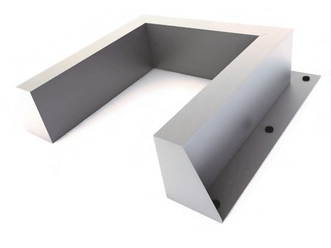 System to protect against fire penetration KF COLLAR C by Knauf Italia
