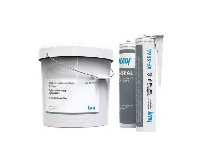 Fire seal, foam and mastic KF SEAL by Knauf Italia