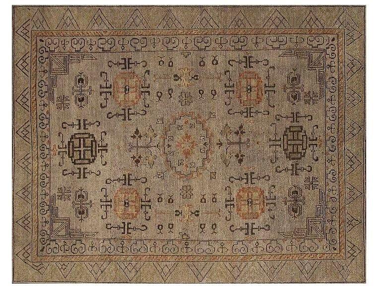 Patterned handmade rug KH109   Rug by Mohebban