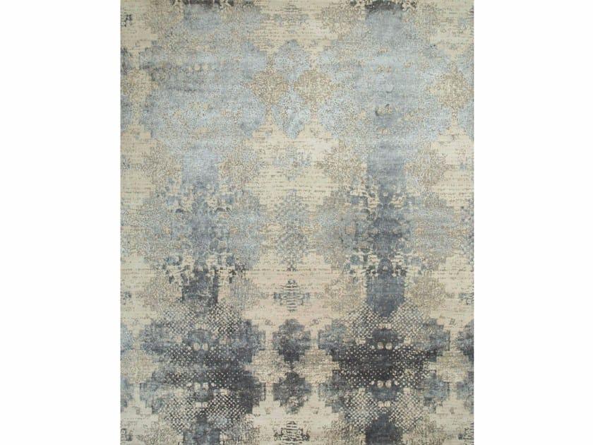 Patterned rug KHAKI ESK-661 Antique White/Soft Gray by Jaipur Rugs