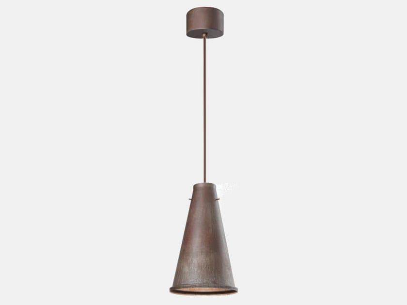 Iron pendant lamp KHONUS 256.03.FF by Il Fanale