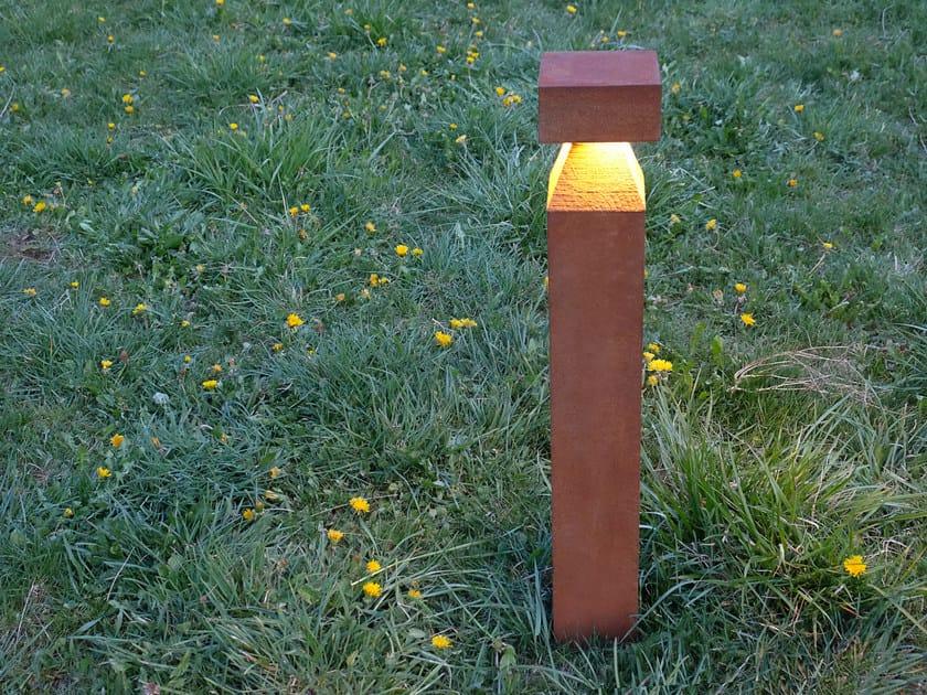 LED Oxer bollard light KIBO by konic