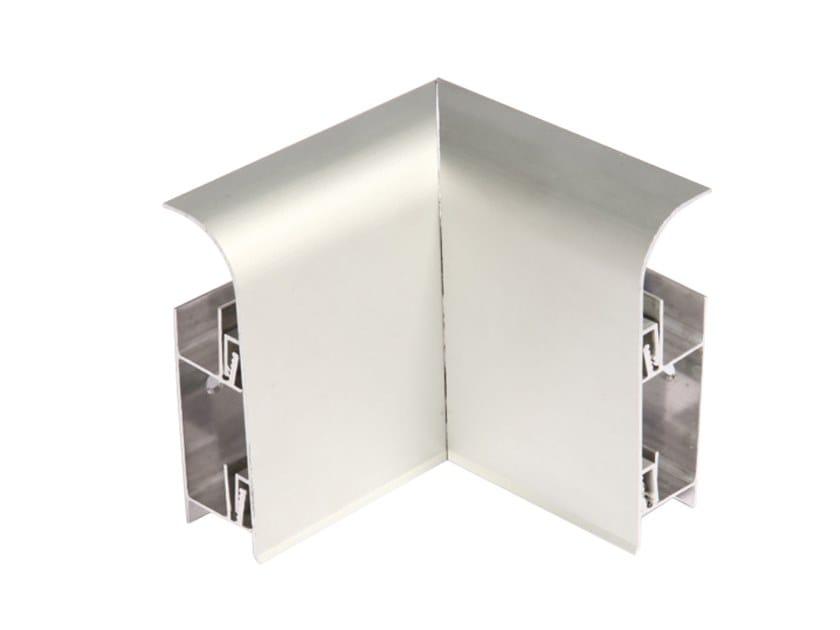Aluminium Skirting board KIC by Genesis