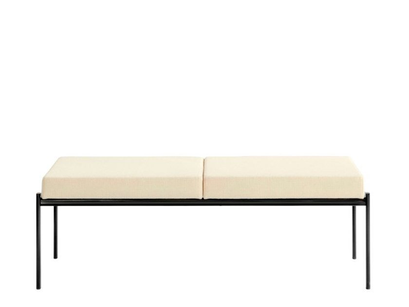 Upholstered fabric bench KIKI | Fabric bench by Artek