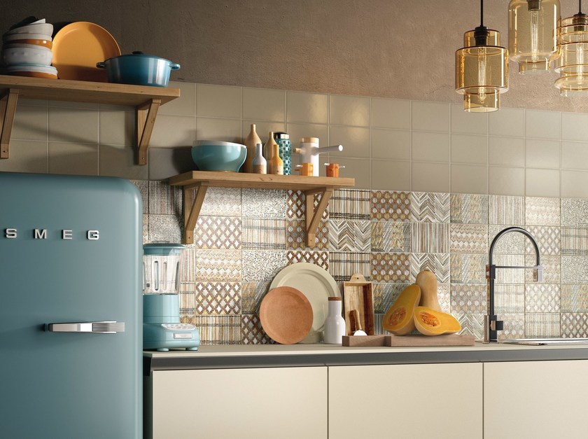 Double-fired ceramic wall tiles KIKO by Ceramica d'Imola