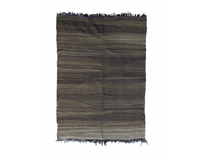 Rectangular wool rug KILIM TAA288BE by AFOLKI