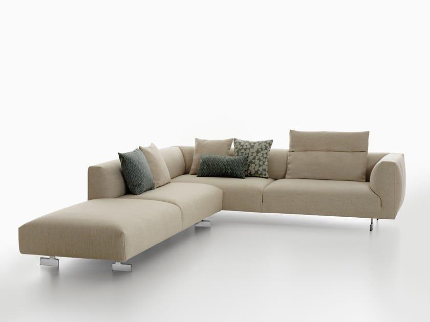 Corner sofa KIM | Corner sofa by Zanotta