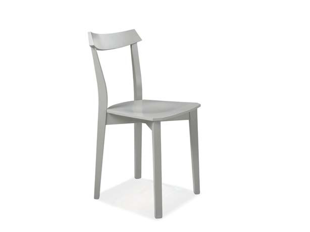 Open back beech chair KIM by CREO Kitchens