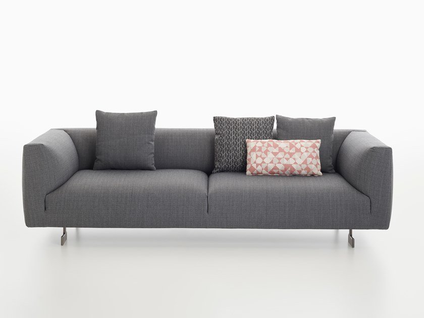 2 seater sofa KIM | Sofa by Zanotta