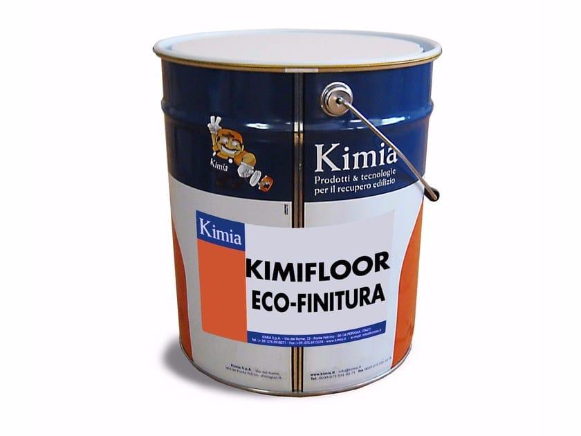 Flooring protection KIMIFLOOR ECO-FINITURA by Kimia
