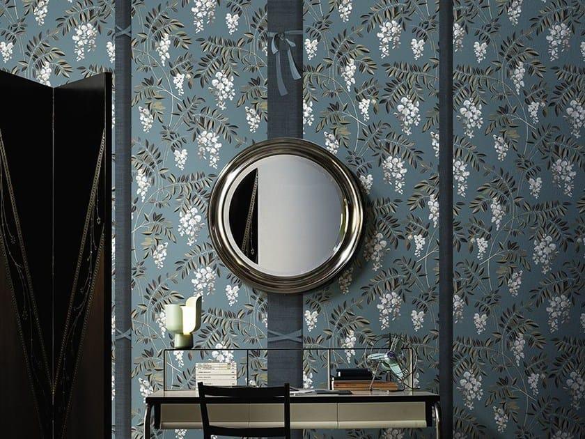 Wallpaper with floral pattern KIMONO by Wall&decò
