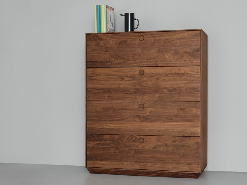 Solid wood chest of drawers KIN BIG | Chest of drawers by ZEITRAUM