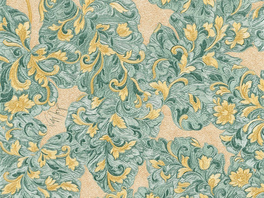 Washable wallpaper with floral pattern 338691 - 338695 by Architects Paper