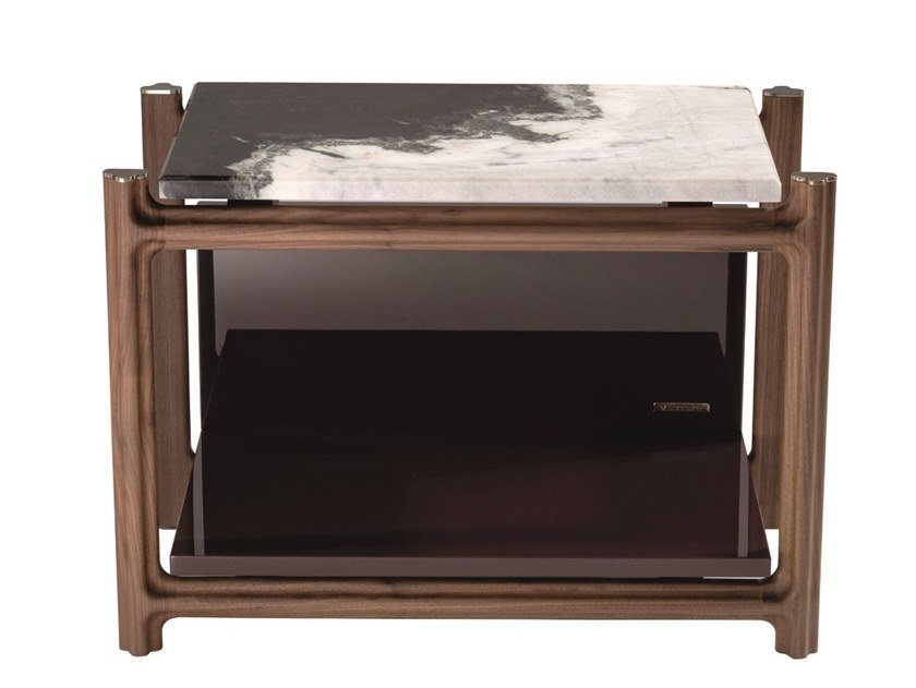 Low rectangular marble coffee table KING'S CROSS | Rectangular coffee table by Visionnaire