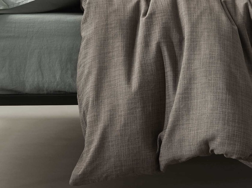 Solid-color cotton duvet cover KIO | Duvet cover by Society Limonta