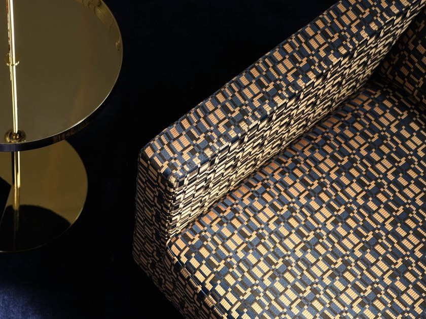 Polyester fabric KIOSQUE by LELIEVRE