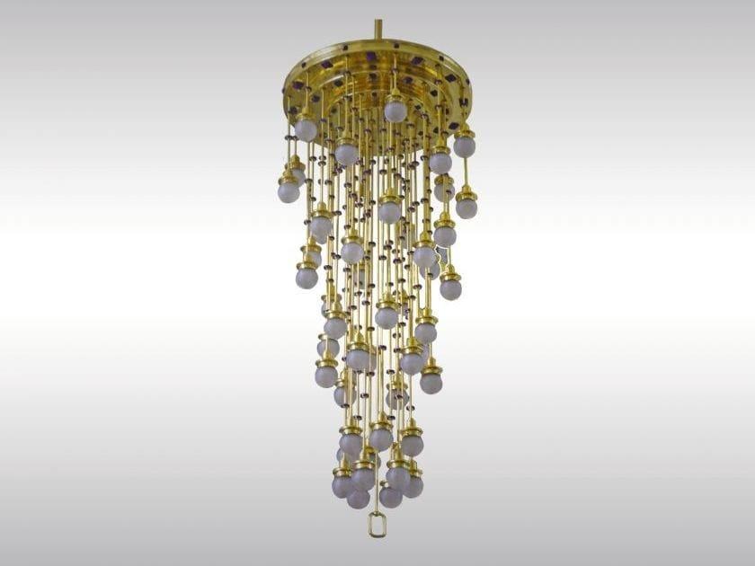 Lampadario in stile classico KIRCHE AM STEINHOF-LUSTER-48 by Woka Lamps Vienna