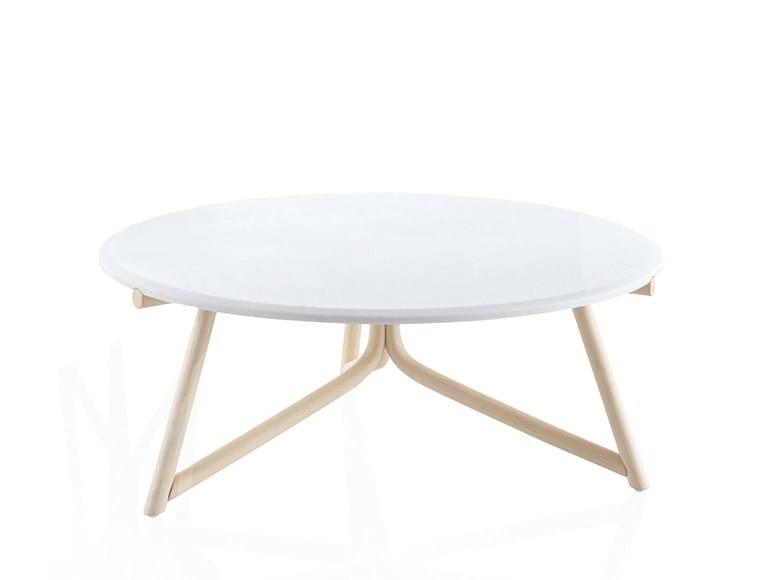 Low stone coffee table KIRI | Stone coffee table by EXPORMIM