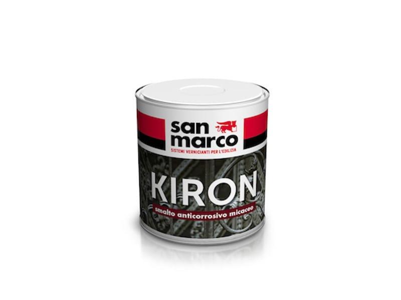 Mica-finish anticorrosive enamel KIRON by San Marco